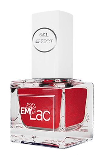Купить E.MI 076 лак ультрастойкий для ногтей, Алое пламя / Gel Effect 9 мл, Красные