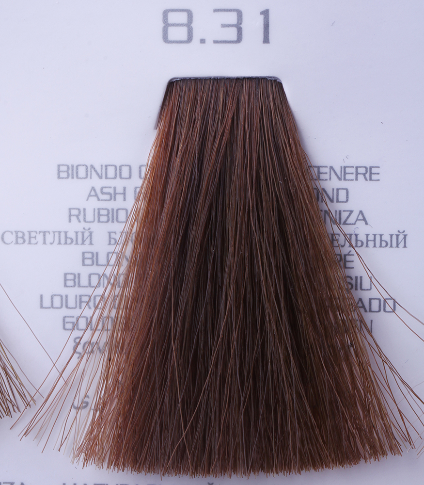 HAIR COMPANY 8.31 краска для волос / HAIR LIGHT CREMA COLORANTE 100мл