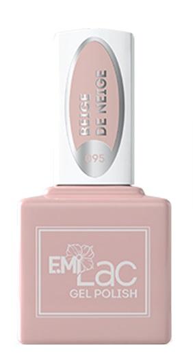 E.MI 095 CW гель-лак для ногтей, Снежный беж / E.MiLac 6 мл