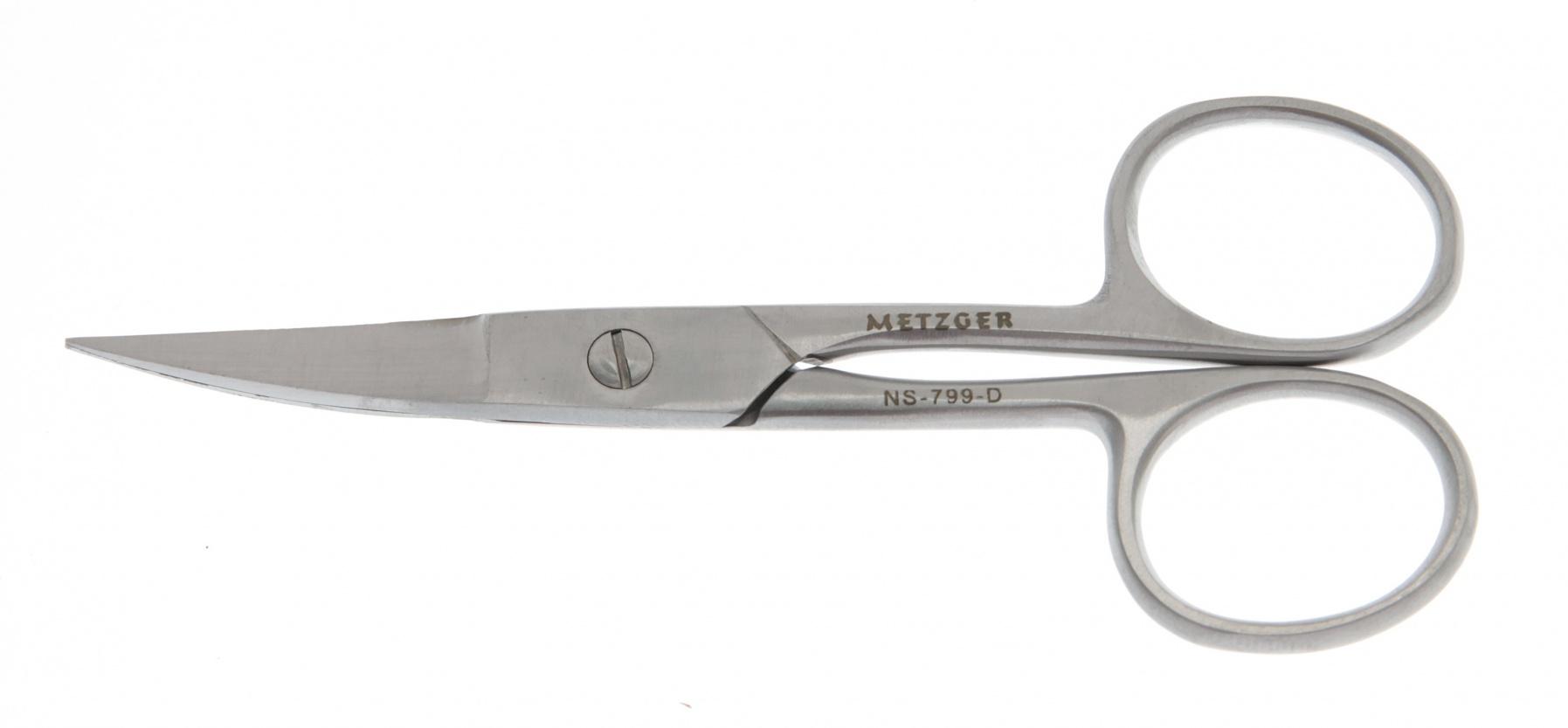 METZGER Ножницы для ногтей NS-799-D(CVD)