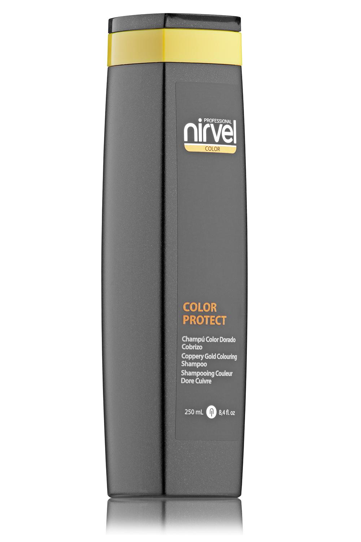 Купить NIRVEL PROFESSIONAL Шампунь оттеночный, медно-золотистый / COLOR PROTECT COLOURING COPPERY GOLD 250 мл