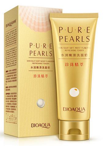 BIOAQUA Пенка для умывания / Pure Pearls 100 г -  Пенки