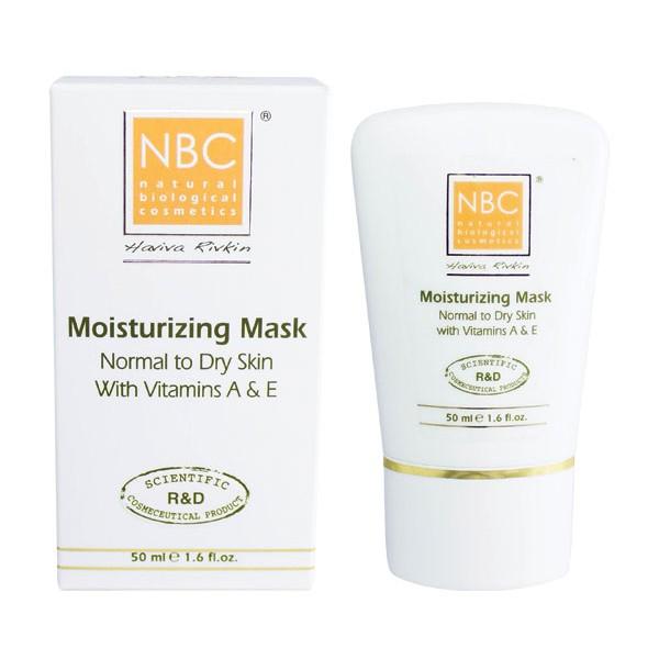 NBC Haviva Rivkin Маска увлажняющая с витаминами А и Е / Moisturizer Mask With Vitamin A and E 50млМаски<br>Маска-гидратант, глубоко увлажняет обезвоженную кожу, охлаждает, успокаивает. Способствует ускоренной регенерации клеток. Придает свежесть, эластичность, подтянутость контура. Содержит полный противовозрастной комплекс.Активные ингредиенты: масло сладкого миндаля, стеариновая кислота, масло какао, спермацет, ланолин, кукурузный крахмал, белая глина, триэтаноламин, аллантоин, витамины Е, А.Способ применения: нанести на чистую кожу, оставить на 10-15 минут и снять влажной салфеткой, затем протереть тоником и наложить соответствующий крем.<br>