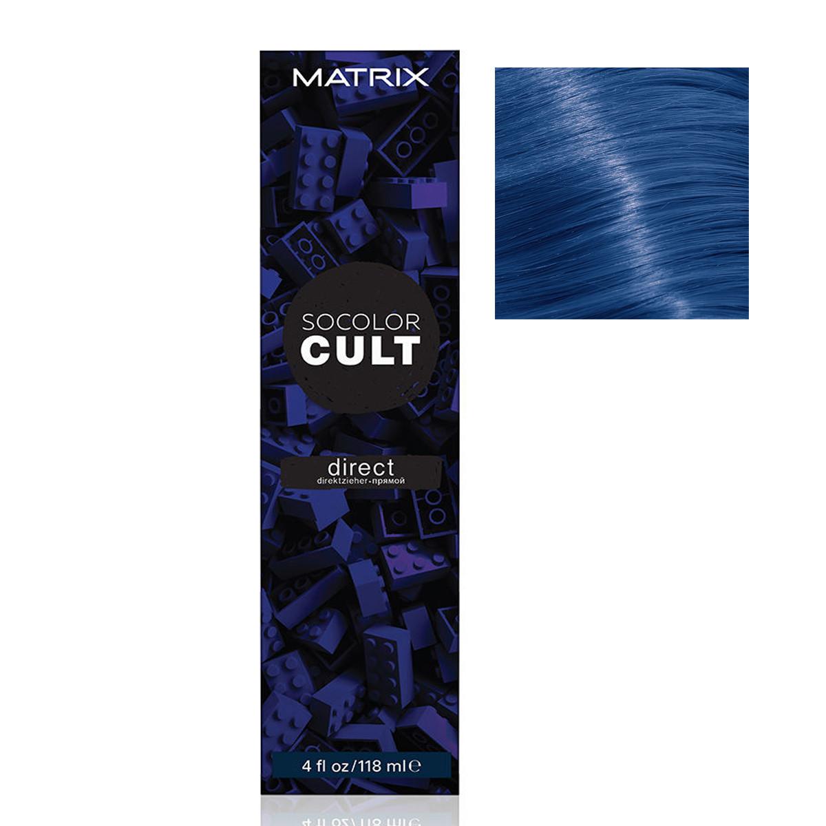 Купить MATRIX Крем-краситель с пигментами прямого действия для волос, морской адмирал / SOCOLOR CULT 118 мл