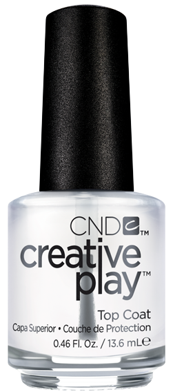 CND 481 покрытие верхнее / Top Coat Creative Play 13,6 мл