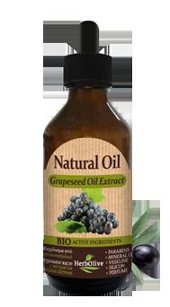 MADIS Масло виноградных косточек натуральное / HerbOlive 100 мл