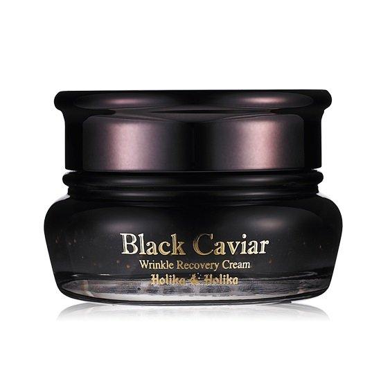 HOLIKA HOLIKA Крем-лифтинг питательный для лица Черная икра / Black Caviar Anti-Wrinkle Cream 50мл