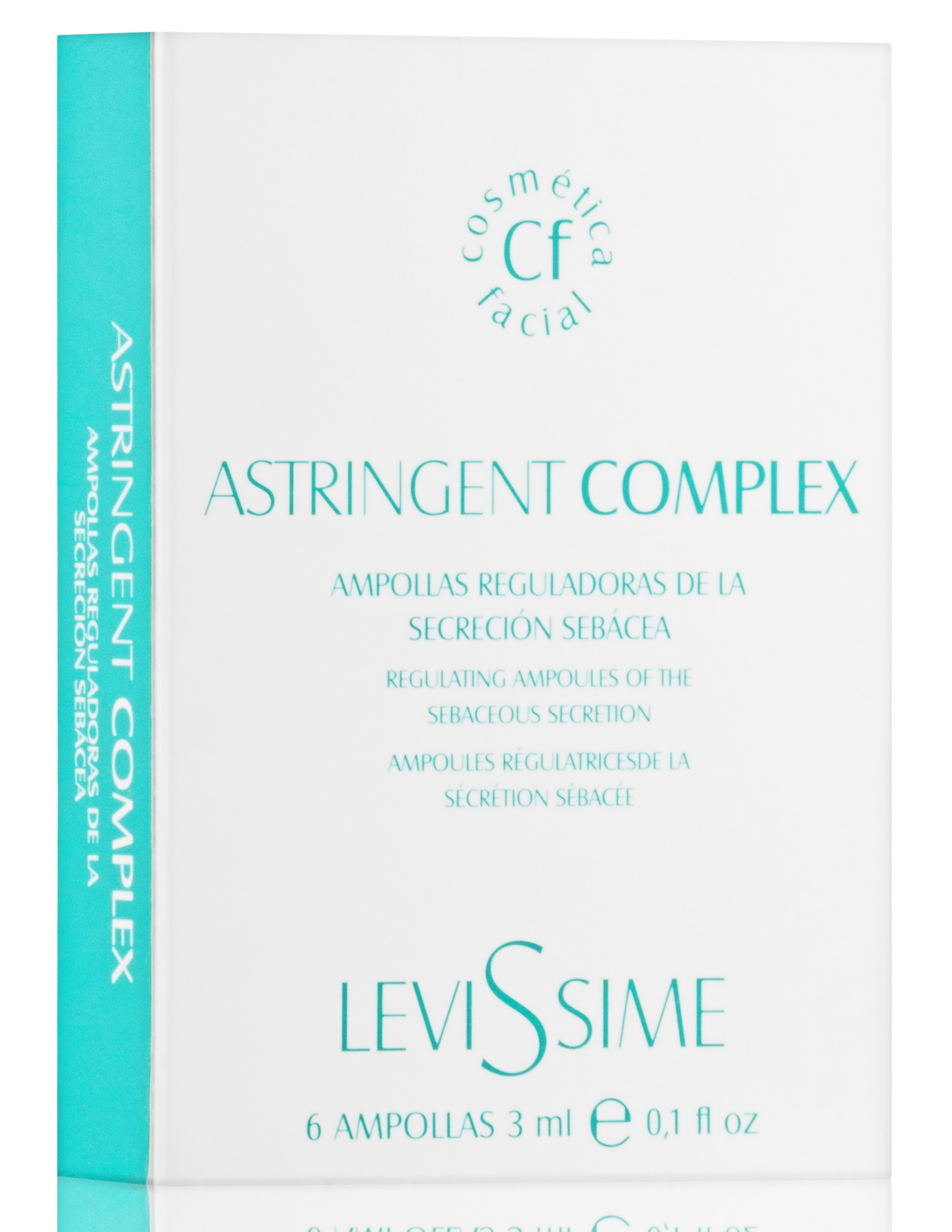 LEVISSIME Комплекс для проблемной кожи / Astringen Complex 6*3 мл - Ампулы