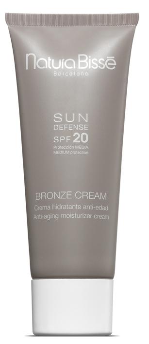 NATURA BISSE Крем солнцезащитный для лица SPF20 / Bronze Cream SUN DEFENSE 75мл