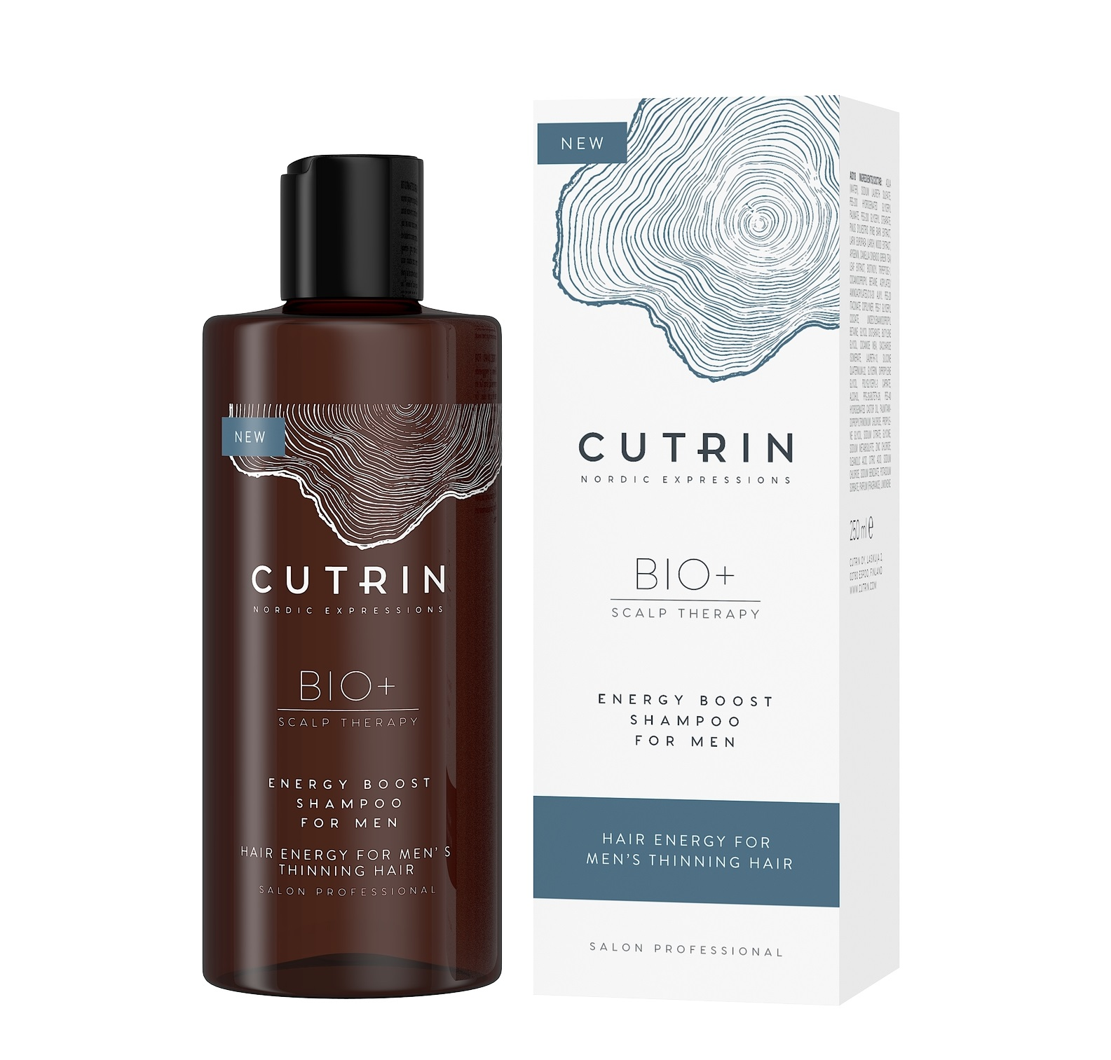 Купить CUTRIN Шампунь-бустер для укрепления волос для мужчин / BIO+ ENERGY BOOST 250 мл