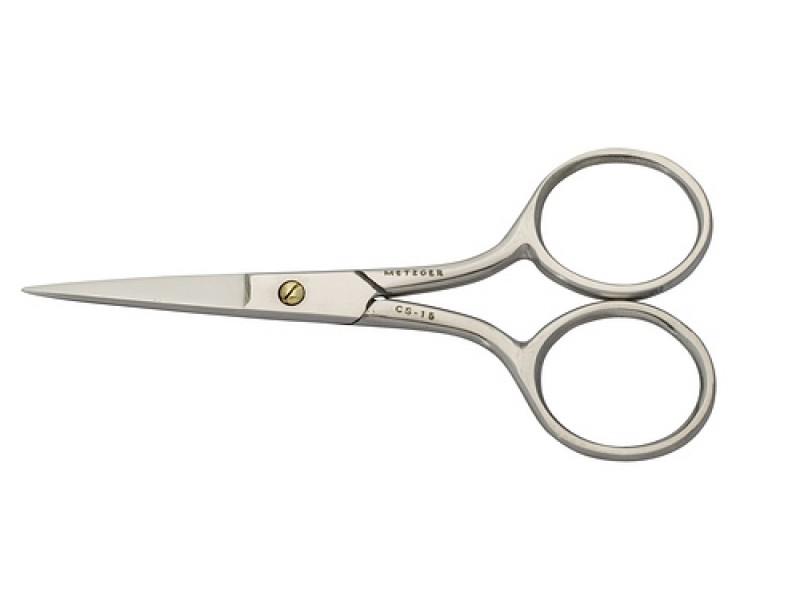 METZGER Ножницы для ногтей NS-1/5-S (ST), прямые блестящие