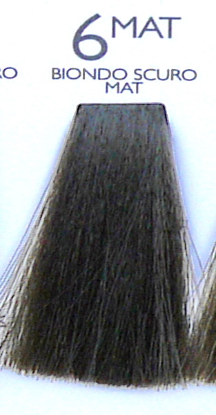 Купить SHOT 6MAT краска с коллагеном для волос, матовый темный блонд / DNA COLOR 100 мл
