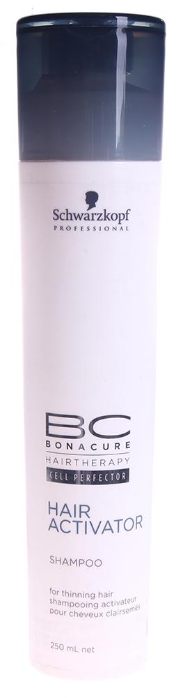 SCHWARZKOPF PROFESSIONAL Шампунь для роста волос / BC HAIR&amp;SCALP 250млШампуни<br>Уровень ухода: 1 Содержит карнитинтартрат,стимулирующий деятельность клетки глубоко внутри луковицы волоса. Активизирует и придает энергию корням волос, идеально подготавливает кожу головы к применению средств для роста волос. Способ применения: нанести на влажные волосы, вмассировать, оставить на 2 минуты, затем смыть.<br><br>Объем: 250<br>Вид средства для волос: Стимулирующий<br>Назначение: Выпадение