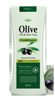MADIS Кондиционер для нормальных и жирных волос с алоэ-вера / HerbOlive 200мл