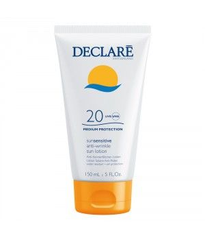 DECLARE Лосьон солнцезащитный с омолаживающим действием SPF 20 / Anti-Wrinkle Sun Lotion 150мл