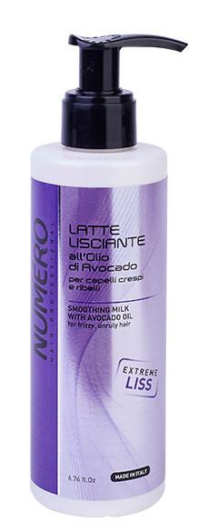 Купить BRELIL PROFESSIONAL Молочко разглаживающее с маслом авокадо для пушистых и непослушных волос / Numero 200 мл