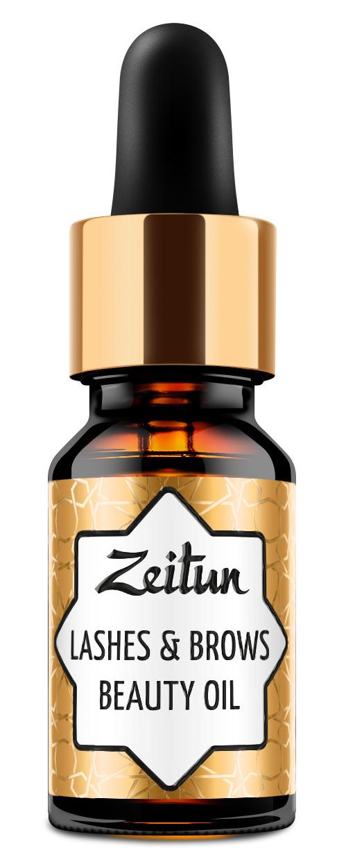 Купить ZEITUN Масло красоты для ресниц и бровей 10 мл