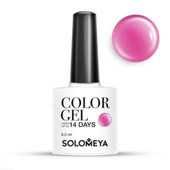 SOLOMEYA Гель-лак Solomeya Color Gel Lollipops SCG063/Сладости 8,5 млГель-лаки<br>Гель-лак Color Gel Solomeya подарит маникюру яркость, палитру из 100 оттенков и стойкость до 21 дня. Благодаря оптимальной консистенции он легко и равномерно наносится, не оставляя пузырьков и проплешин. В состав гель-лака входят качественные красители, обеспечивающие высокую пигментированность каждого оттенка. Не содержит толуол, растворители и отвердители. Способ применения: поверх базового геля нанесите 1 тонкий слой средства, запечатывая торцы ногтей, и просушите в UV-лампе (36 Вт) 1 минуту или в LED-лампе - 30 секунд. Затем нанесите второй слой цветного гель-лака, также запечатывая торцы ногтей, и просушите в UV-лампе (36 Вт) 1 минуту или в LED-лампе - 30 секунд.<br><br>Цвет: Розовые<br>Виды лака: Перламутровые