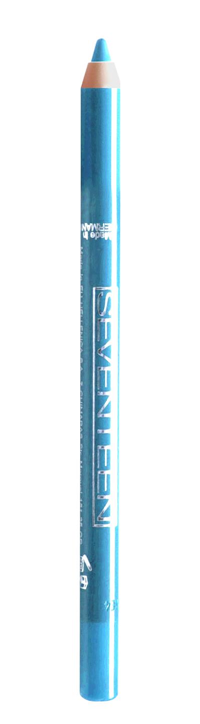 SEVENTEEN Карандаш водостойкий с витамином Е для век, 17 бирюзовый / Super Smooth W/P & Longstay 1,2 г