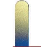 BOHEMIA PROFESSIONAL Пилочка стеклянная цветная с рисунком 90мм