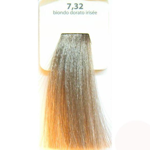 KAARAL 7.32 краска для волос / Sense COLOURS 100млКраски<br>7.32 золотисто-фиолетовый блондин Перманентные красители. Классический перманентный краситель бизнес класса. Обладает высокой покрывающей способностью. Содержит алоэ вера, оказывающее мощное увлажняющее действие, кокосовое масло для дополнительной защиты волос и кожи головы от агрессивного воздействия химических агентов красителя и провитамин В5 для поддержания внутренней структуры волоса. При соблюдении правильной технологии окрашивания гарантировано 100% окрашивание седых волос. Палитра включает 93 классических оттенка. Способ применения: Приготовление: смешивается с окислителем OXI Plus 6, 10, 20, 30 или 40 Vol в пропорции 1:1 (60 г красителя + 60 г окислителя). Суперосветляющие оттенки смешиваются с окислителями OXI Plus 40 Vol в пропорции 1:2. Для тонирования волос краситель используется с окислителем OXI Plus 6Vol в различных пропорциях в зависимости от желаемого результата. Нанесение: провести тест на чувствительность. Для предотвращения окрашивания кожи при работе с темными оттенками перед нанесением красителя обработать краевую линию роста волос защитным кремом Вaco. ПЕРВИЧНОЕ ОКРАШИВАНИЕ Нанести краситель сначала по длине волос и на кончики, отступив 1-2 см от прикорневой части волос, затем нанести состав на прикорневую часть. ВТОРИЧНОЕ ОКРАШИВАНИЕ Нанести состав сначала на прикорневую часть волос. Затем для обновления цвета ранее окрашенных волос нанести безаммиачный краситель Easy Soft. Время выдержки: 35 минут. Корректоры Sense. Используются для коррекции цвета, усиления яркости оттенков, создания новых цветовых нюансов, а также для нейтрализации нежелательных оттенков по законам хроматического круга. Содержат аммиак и могут использоваться самостоятельно. Оттенки: T-AG - серебристо-серый, T-M - фиолетовый, T-B - синий, T-RO - красный, T-D - золотистый, 0.00 - нейтральный. Способ применения: для усиления или коррекции цвета волос от 2 до 6 уровней цвета корректоры добавляются в краситель по Прав