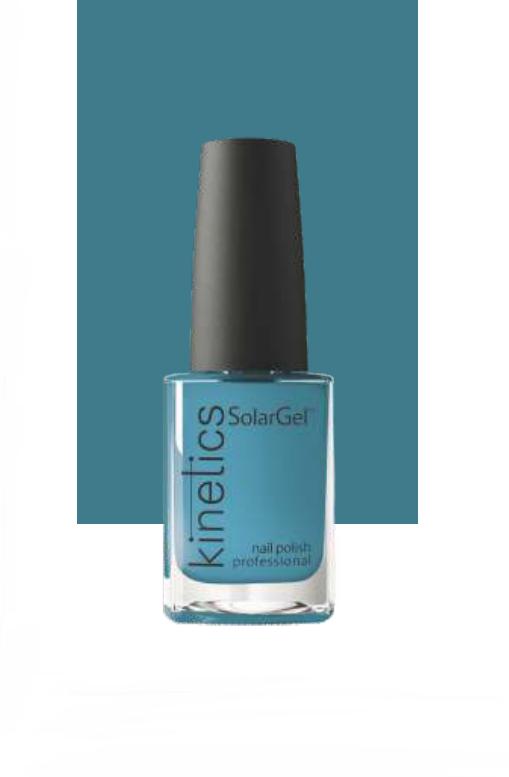 KINETICS 387 лак профессиональный для ногтей / SolarGel Polish 15 мл комплект накладок на евроцилиндр archie genesis cl 20g cl s cold