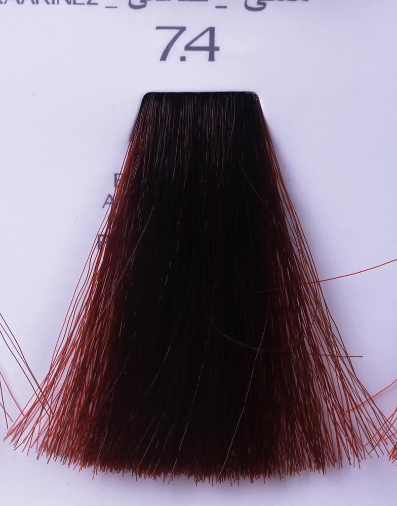 HAIR COMPANY 7.4 краска для волос / HAIR LIGHT CREMA COLORANTE 100млКраски<br>7.4 русый медныйHair Light Crema Colorante   профессиональный перманентный краситель для волос, содержащий в своем составе натуральные ингредиенты и в особенности эксклюзивный мультивитаминный восстанавливающий комплекс. Минимальное количество аммиака позволяет максимально бережно относится к структуре волоса во время окрашивания. Содержит в себе растительные экстракты вытяжку из арахиса, лецитин, витамин А и Е, а так же витамин С который является природным консервантом цвета. Применение исключительно активных ингредиентов и пигментов высокого качества гарантируют получение однородного, насыщенного, интенсивного и искрящегося оттенка. Великолепно дает возможность на 100% закрасить даже стекловидную седину. Наличие 6-ти микстонов, а так же нейтрального бесцветного микстона, позволяет достигать получения цветов и оттенков. Способ применения: смешать Hair Light Crema Colorante с Hair Light Emulsione Ossidante в пропорции 1:1,5. Время воздействия 30-45 мин.<br><br>Вид средства для волос: Восстанавливающий<br>Класс косметики: Профессиональная