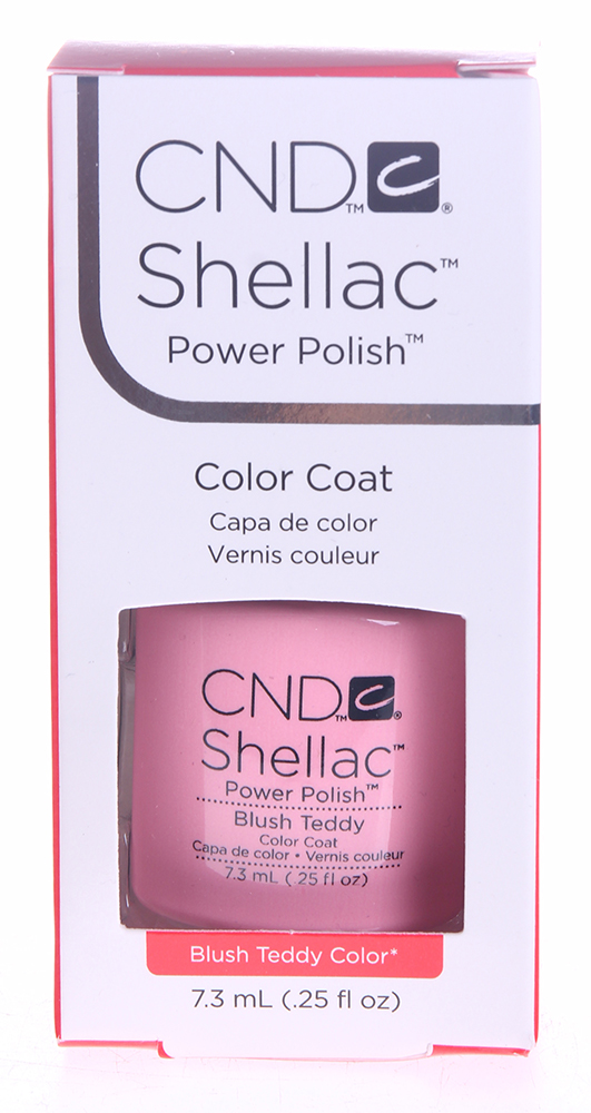CND 084 покрытие гелевое / Blush Teddy SHELLAC 7,3 мл