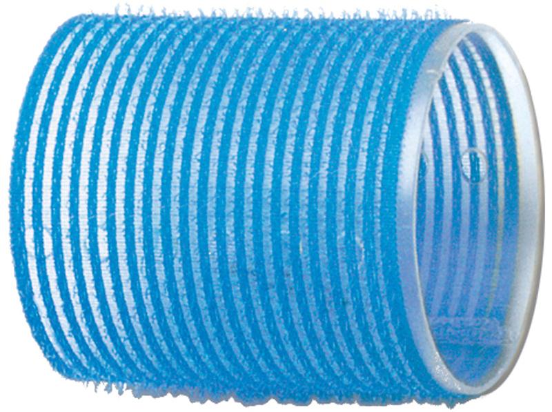 DEWAL PROFESSIONAL Бигуди-липучки голубые d 55мм 6шт/уп маникюрный набор 7 предметов коричневый solingen kellermann