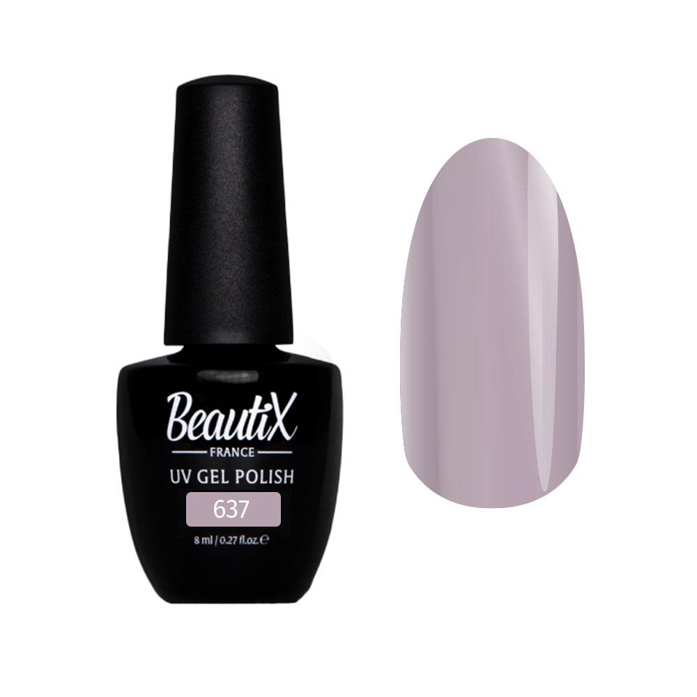 BEAUTIX 637 гель-лак для ногтей 8 мл цвет фиолетовые
