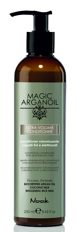 NOOK Кондиционер для придания объема тонким и наэлектризованным волосам / Extra Volume Latte Condtioner MAGIC ARGANOIL 250 мл.