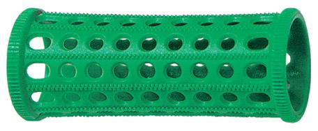 SIBEL Бигуди пластмассовые зеленые 25 мм 10 шт/уп.