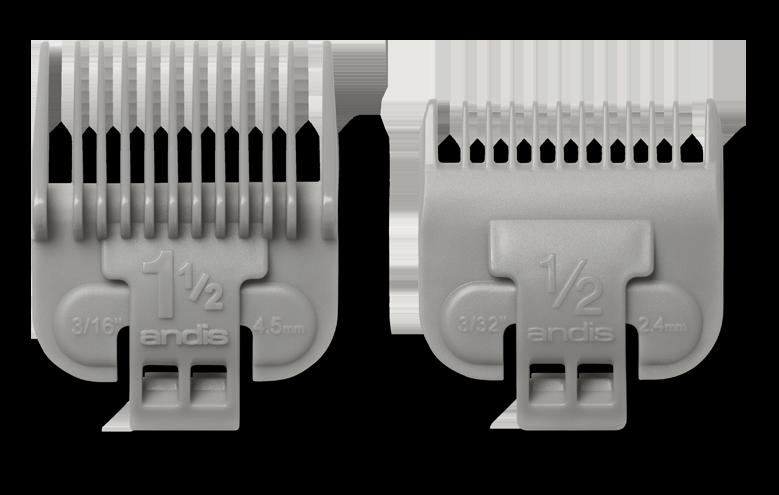 Купить ANDIS Набор насадок для US-1, LCL, AAC-1, PM-4 (2.25 и 4.5 мм)