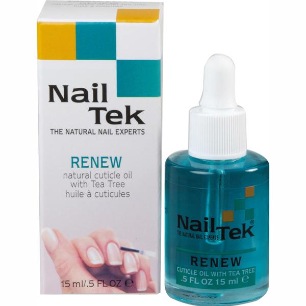 NAIL TEK Масло для кутикулы / Renew 15млДля кутикулы<br>Терапевтическое масло для кутикулы &amp;mdash; уникальная смесь необходимых масел и хороших увлажняющих средств вместе с эффективными противогрибковыми ингредиентами. Оно питает кутикулу и ухаживает за ней, оказывая противогрибковую защиту. Это лечебное масло является уникальным сочетанием эфирных масел, таких как: масло жожоба, масло рисовых зерен и миндаля, а также питательных увлажнителей и эффективных натуральных противогрибковых ингредиентов, таких как: масло австралийского чайного дерева и витамин Е. Дозатор-пипетка на каждой бутылочке не допускает загрязнения продукта.  Способ применения: Аккуратно наносится на кутикулу, втирается.<br><br>Типы ногтей: Нормальные