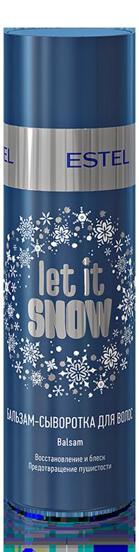 ESTEL PROFESSIONAL Бальзам сыворотка для волос / Let it Snow 200 мл