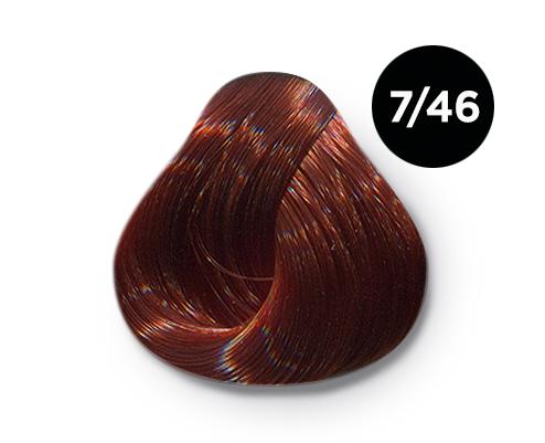 Купить OLLIN PROFESSIONAL 7/46 краска для волос, русый медно-красный / OLLIN COLOR 100 мл