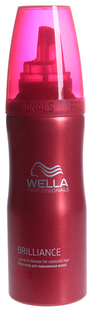 WELLA Мусс-уход для окрашенных волос / Brilliance 200мл