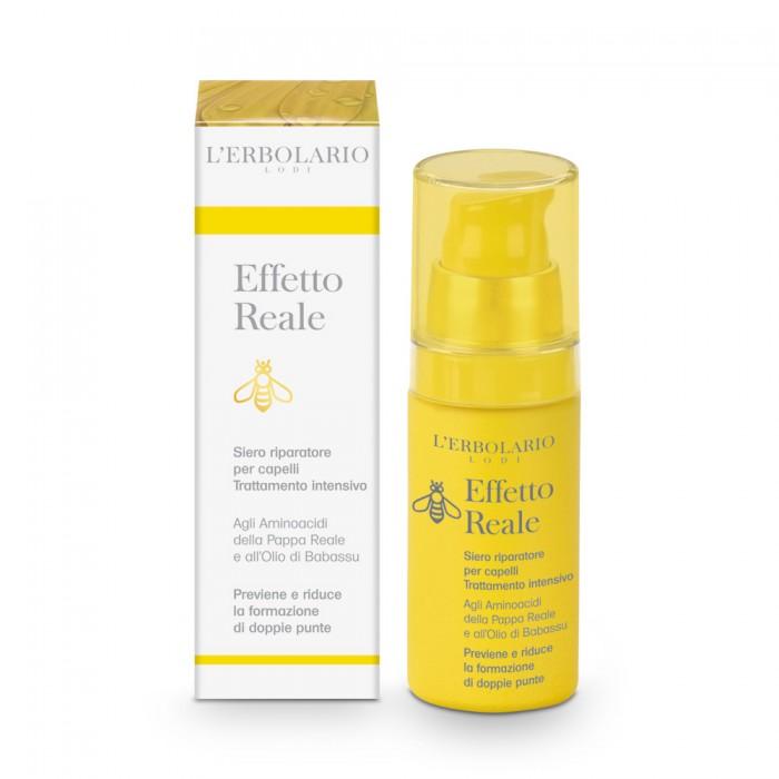 LERBOLARIO Сыворотка Естественный эффект против секущихся кончиков 30млСыворотки<br>Восстановить секущиеся волосы, если они сильно повреждены и пересушены, не так просто. Но интенсивный уход, который оказывает сыворотка, может обеспечить заметное улучшение. Благодаря великолепным ингредиентам, таким как масло бабассу, инка инчи и оливковое масло, сыворотка интенсивно питает волосы, усиливая их и восстанавливая секущиеся концы. Восстановительное действие оказывает также жирорастворимый экстракт пчелиного маточного молочка (эксклюзивная разработка  Л Эрболарио ), который облегчает расчесывание волос, делает красивыми и мягкими. Активные ингредиенты: Жирорастворимый экстракт пчелиного маточного молочка. Эксклюзивная разработка фирмы  ЛЭрболарио . Обеспечивает питание и защиту волосам. Масло бабассу. Прекрасный ингредиент для ухода за сухими ломкими волосами. Обеспечивает увлажнение волос.&amp;nbsp; Масло инка инчи. Это масло холодного отжима получено из растения Plukenetia volubilis, распространенного в Перу. Масло очень богато жирными полиненасыщенными кислотами. По своему составу оно близко к кожному салу. Оно питает волосы, придает блеск, но не делает волосы тяжелыми. Триглицеридная фракция оливкового масла. Этот липогель на основе оливкового масла придает сыворотке немного вязкую структуру. Этот ингредиент объединяет все действующие вещества сыворотки и усиливает эффект воздействия на волосы. Липогель  запечатывает  секущееся кончики, волосы становятся мягкими, блестящими, но не жирными на ощупь.&amp;nbsp; Способ применения: взболтайте флакон, выдавите дозатором на подушечки пальцев небольшое количество сыворотки и нанесите на концы волос. Если волосы очень сухие, можно распределить сыворотку по всей длине волос. Важно! Сыворотка не содержит силиконов, парабенов, минеральных масел и парафиновых восков. Все средства серии  ЕСТЕСТВЕННЫЙ ЭФФЕКТ  протестированы на отсутствие 7 металлов: никеля, свинца, мышьяка, кадмия, ртути, сурьмы и хрома.<br><br>Объем: 30 мл<br>Назн