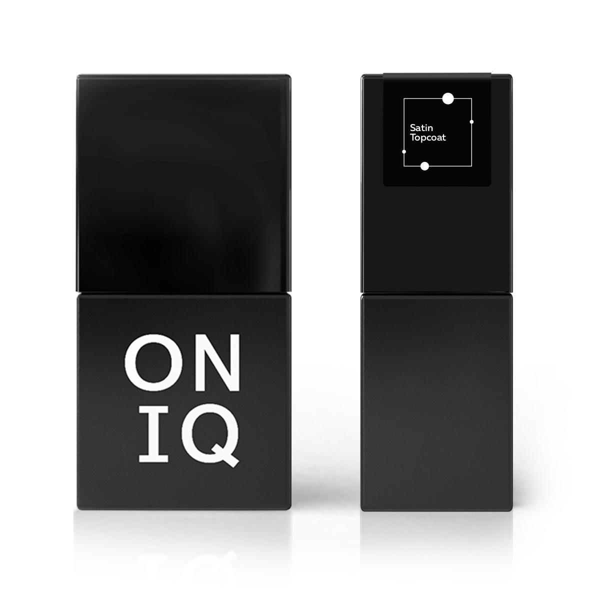 ONIQ Покрытие финишное с сатиновым эффектом 10 мл - Особые средства