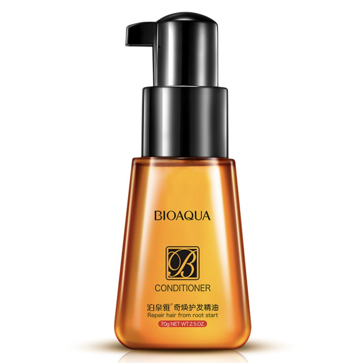 BIOAQUA Флюид для гладкости и блеска волос 70 мл -  Флюиды
