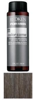 REDKEN Краска-камуфляж для волос Light Ash / COLOR CAMO FOR MEN 60млКраски<br>Оттенок: Светлый пепельный. Краска-камуфляж придаст вашим волосам естественный стойкий цвет без видимого подъема уровня тона при любом уровне седины. Обеспечит волосам глубокий уход, наполнив их силой, здоровьем и сияющим блеском. Color Camo   инновационная разработка специалистов американской компании Redken, созданная для того, чтобы помочь мужчинам скрыть так не вовремя появившуюся седину. Основанная на эксклюзивной технологии невероятно стойкого окрашивания волос, краска-камуфляж оказывает интенсивное воздействие на поседевшие пряди, придавая вашим волосам натуральный однородный цвет и наполняя их жизненной силой и здоровым сияющим блеском. Для мужчин с 50 и менее процентами седины. Не содержит аммиака. Способ применения: Приготовление, нанесение средства и воздействие: Смешайте краску камуфляж седины с Про Оксидом 3% в пропорции 1:1. Нанесение состава следует начинать с участков наиболее интенсивной седины у большинства мужчин это виски, макушка или линия роста волос. Нанесение краску на сухие или подсушенные полотенцем волосы. Сделайте 2-4 пробора и быстро нанесите краску над раковиной для мытья головы. При короткой стрижке процесс нанесения занимает всего 2-3 минуты. Избегайте прямого попадания краски на кожу. Время выдержки при комнатной температуре 5 минут для получения эффекта соль-перец и 10 минут для более полного покрытия седины для темных оттенков время выдержки только 10 минут. Промойте волосы шампунем гаммы For Men.<br><br>Цвет: Пепельный<br>Вид средства для волос: Стойкая<br>Пол: Мужской