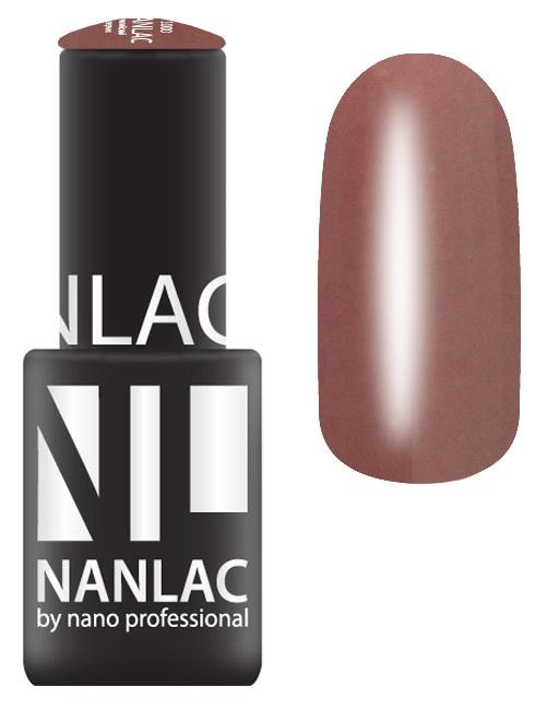 Купить NANO PROFESSIONAL 2126 гель-лак для ногтей, Амароне / NANLAC 6 мл, Коричневые