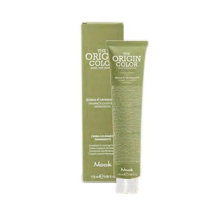 NOOK 44.0 Краска для волос интенсивный натуральный шатен / The Origin Color INTENSE NATURAL CHESTNUT, 100 млКраски<br>Профессиональный краситель для волос, обогащенный эко-сертифицированным экстрактом киноа и абиссинским маслом. Краситель используется исключительно в смеси с активаторами Nook Activator и сервисными препаратами Nook Service Color. Перед использованием необходимо проводить тест на аллергическую реакцию. Перед применением внимательно ознакомьтесь с прилагаемой инструкцией. Для профессионального применения. Активные ингредиенты: вода, цетеариловый спирт, полисорбат-80, сорбитановый стеарат, лаурет-3, пропилен гликоль, аммиак, олеиловый спирт, сорбитановый олеат, гликолевый дистеарат, кокамидопропил бетаин, глицериловый изостеарат, стеариновая кислота, пальмитиновая кислота, гидролизованный экстракт киноа, абиссинское масло, гидрогенизированное касторовое масло, пчелиный воск, цетеарет-20, ЭДТА, натрия гидросульфид, натрия сульфид, аскорбиновая кислота, 5-натрия пентат, акрилат/цетет-20 итаконат полимер, натрия лауриловый сульфат, бензиловый спирт, сорбат калия, бензоат натрия, симетикон, резорцинол, 2,4-диаминфенокси этанол, толуэн-2,5-диамин сульфат, 2-метилрезорцинол, м-аминофенол, кумарин, гексил циннамал, лимонен, отдушка.<br><br>Цвет: Натуральный - Базовый<br>Класс косметики: Профессиональная