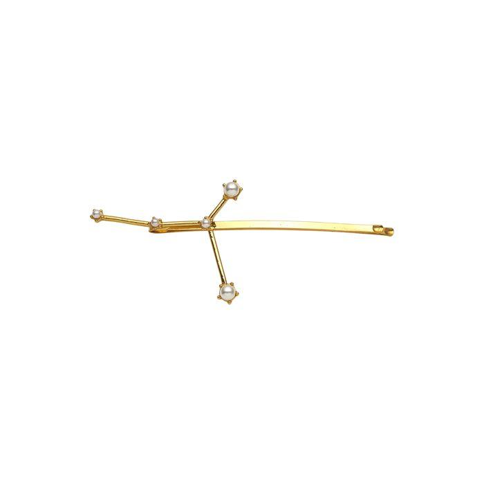 KELA Украшение для волос созвездие рак золото / Cancer Hair Pin Gold