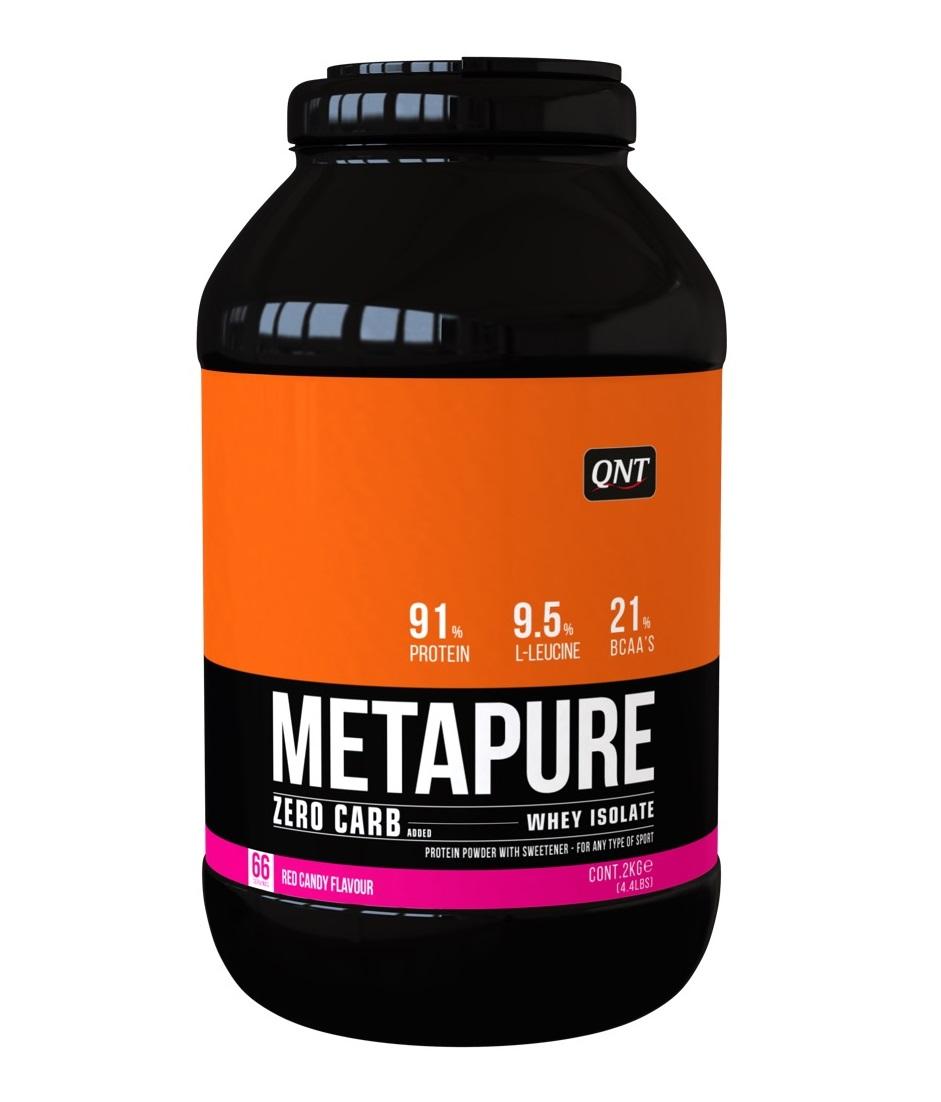 Купить QNT Добавка биологически активная к пище Метапьюр зеро карб, красная конфета / ZERO CARB METAPURE Red Candy 2 кг