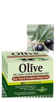 MADIS Крем-лифтинг для лица, шеи и зоны декольте / HerbOlive 50 млКремы<br>Его защитные ингредиенты обеспечивают соответствующую гидратацию кожи. Идеально подходит для всех типов кожи, может использоваться и днем и ночью. Для производства использованы органические плоды рожкового дерева, которые произрастают на диких склонах горы Псилоритис. Активные ингредиенты: масло оливы и органические плоды рожкового дерева. Способ применения: ежедневно.<br><br>Объем: 50 мл