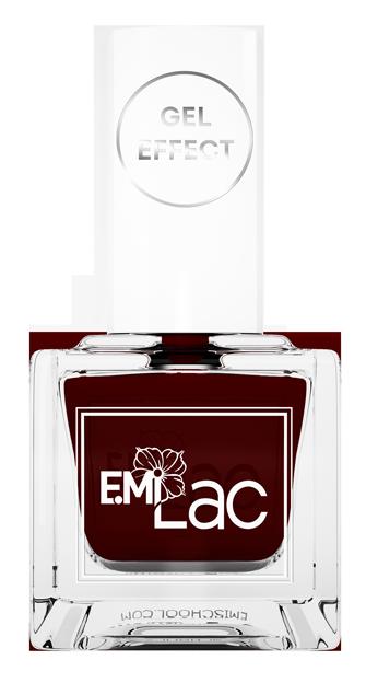 Купить E.MI 026 лак ультрастойкий для ногтей, Сумерки / E.MiLac Gel Effect 9 мл, Красные