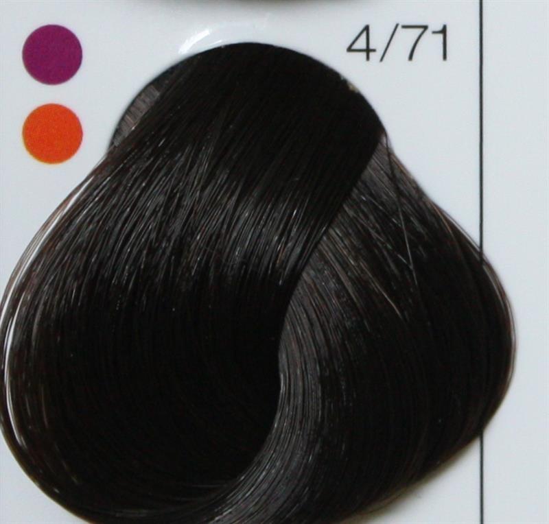 LONDA PROFESSIONAL 4/71 Краска для волос LC NEW инт.тонирование шатен коричнево-пепельный, 60мл