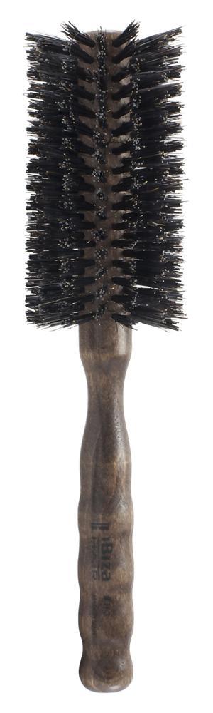 IBIZA HAIR Щетка круглая для укладки волос, диаметр 55 мм (красное дерево) - Брашинги