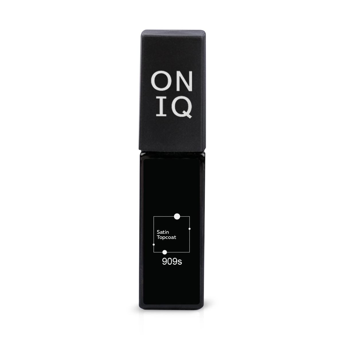 ONIQ Покрытие финишное с сатиновым эффектом 6 мл - Верхние покрытия